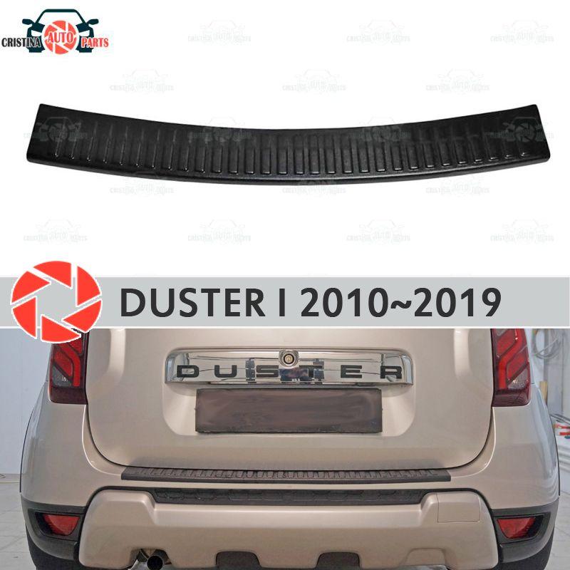 Schutz schutz platte auf hinten stoßstange für Renault Duster 2010-2019 sill auto styling dekoration scuff panel zubehör molding