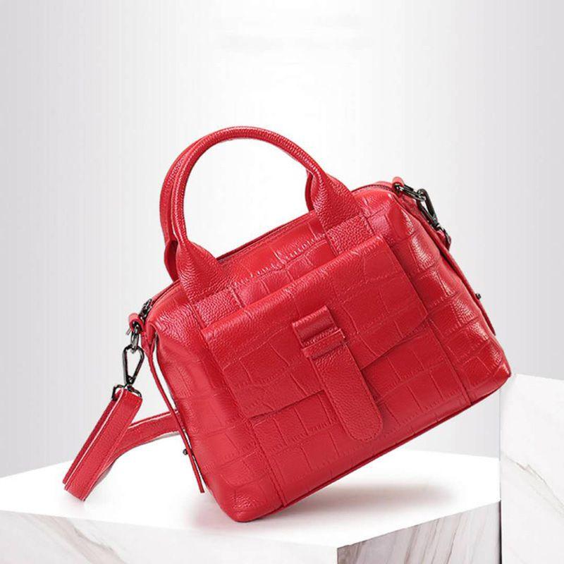 GUQIWT Women's Bag Handbag Crocodile Print Tote Bags Female Purse Fashion Shoulder Bag Women's Crossbody Messenger Bags