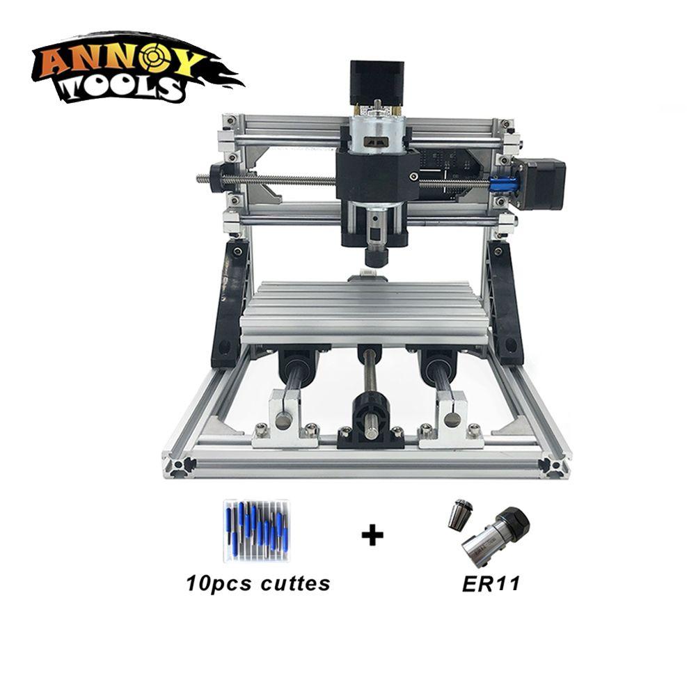 1610 CNC laser cutter laser gravur maschine 0,5 watt-15 watt CNC router, CNC Fräsen Maschine, holz Carving, laser metall gravur