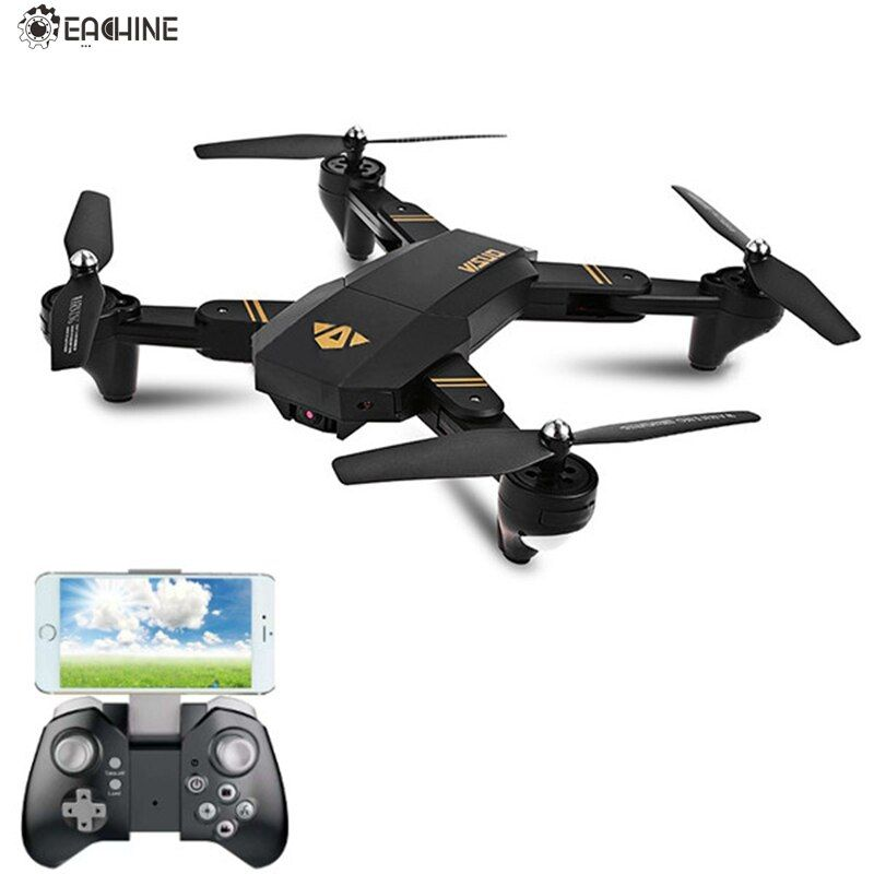 Eachine VISUO XS809HW WIFI FPV With Wide <font><b>Angle</b></font> HD Camera High Hold Mode Foldable Arm RC Quadcopter RTF RC Helicopter Toys