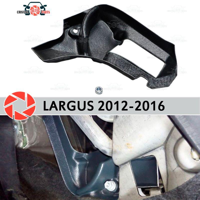 Warme füße für Lada Largus 2012-2016 deflektor schallwand ofen kunststoff ABS geprägte auto styling zubehör dekoration