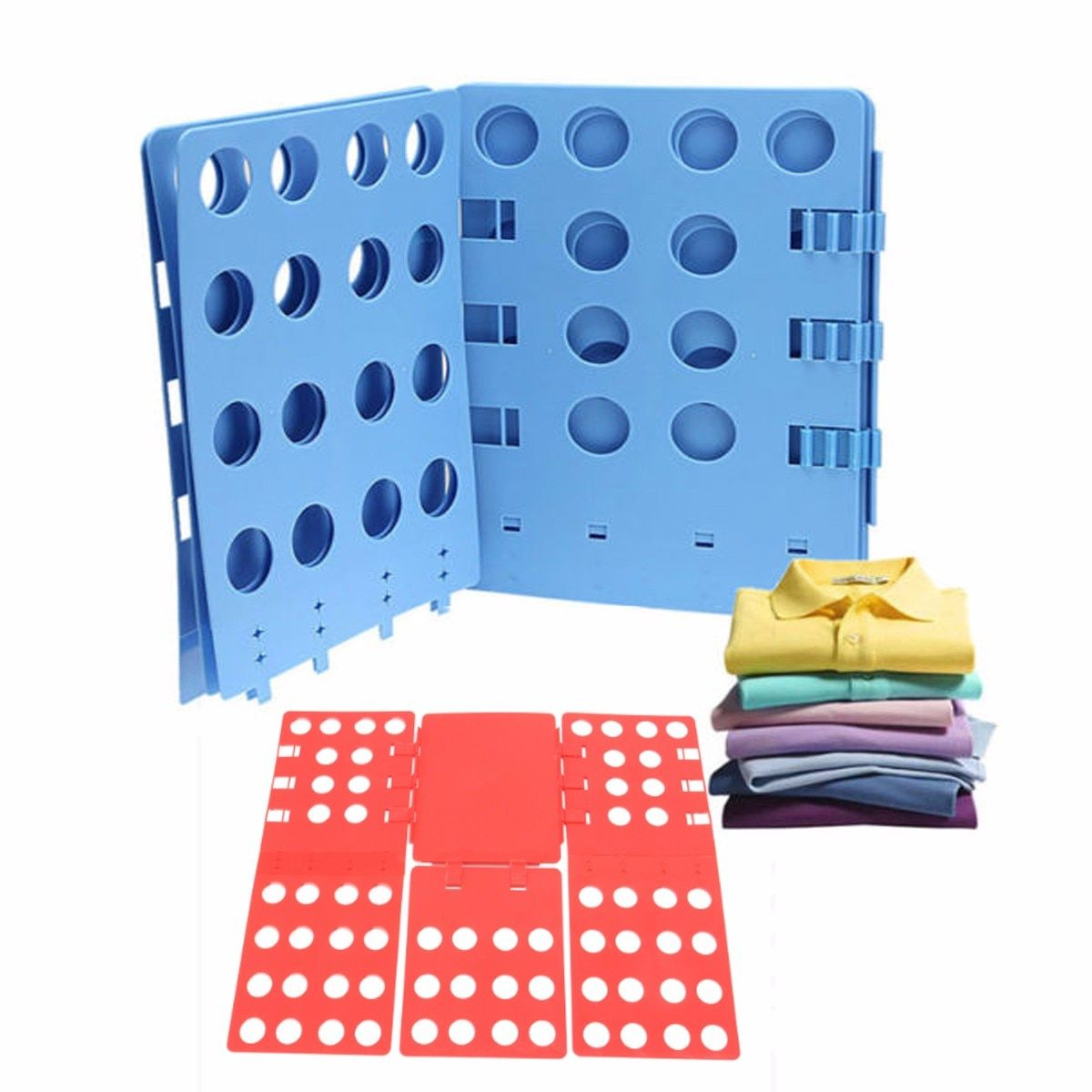 Adult Size Clothes Folding Board Save Time Multifuncitonal Magic Fast <font><b>Speed</b></font> T-Shirt Clothes Easy Fold Organize 69x56cm