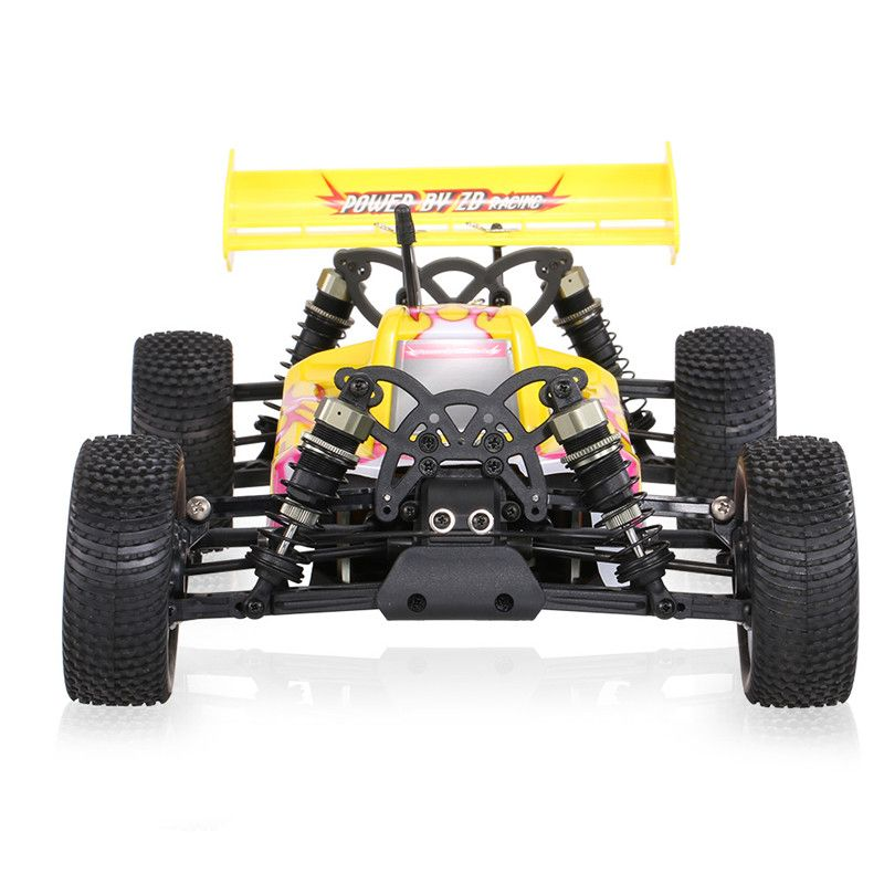 ZD Racing 9102 Tonnerre B-10E DIY Voiture Kit 2.4 GHz 4WD 1/10 Échelle Brushless RC Off-Road Buggy