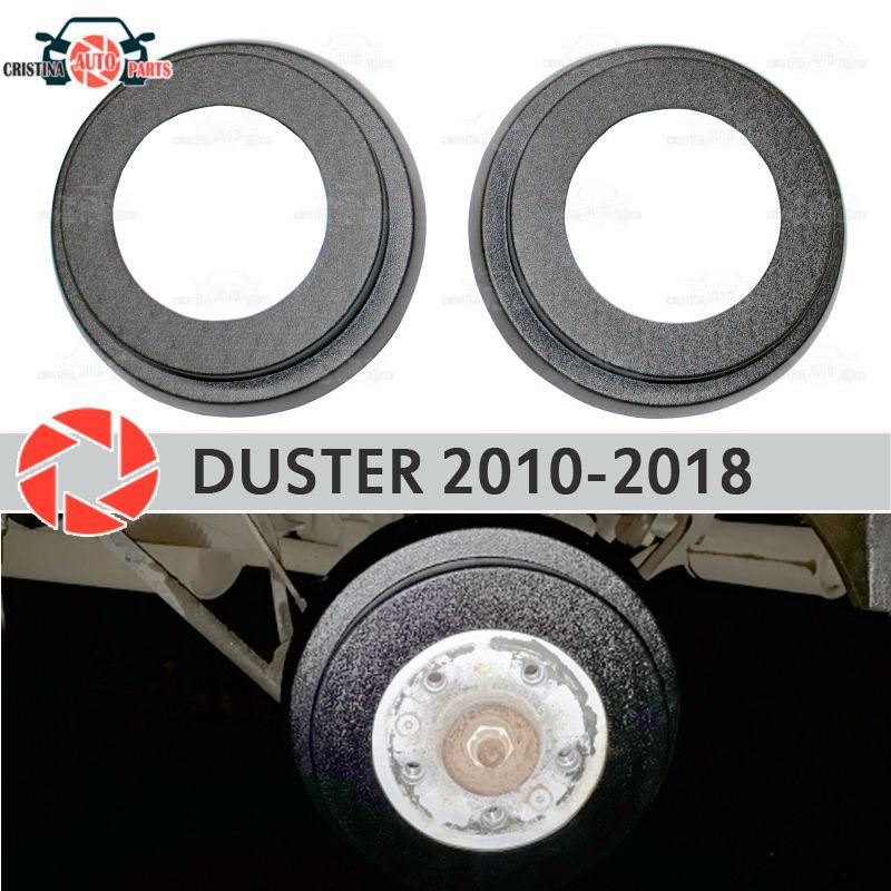 Bremse trommel auskleidungen für Renault Duster 2010-2018 auto styling dekoration schutz scuff panel zubehör abdeckung bremse hinten trommeln