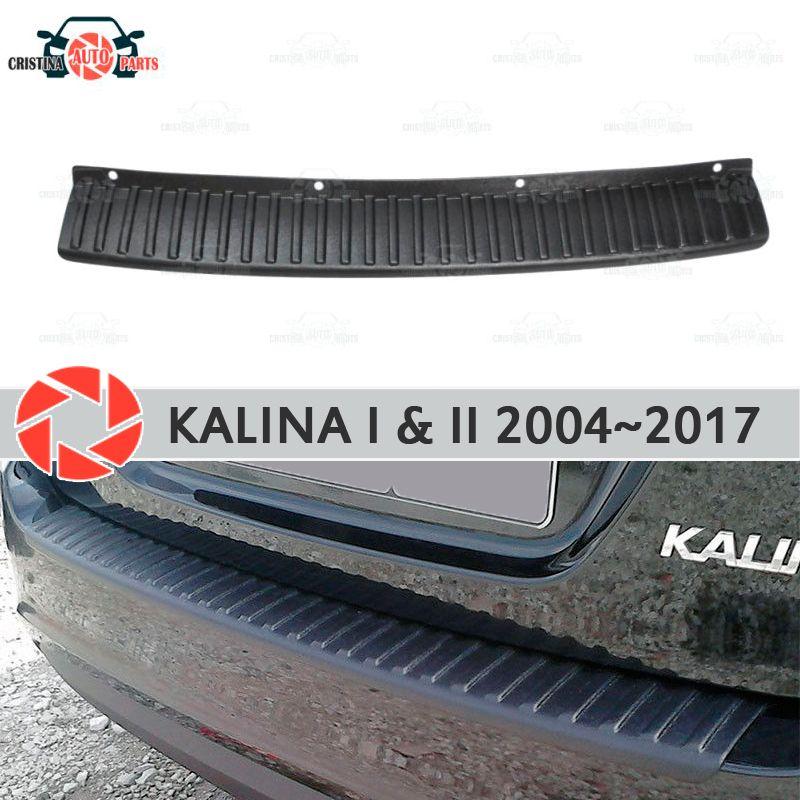 Platte abdeckung hinten stoßstange für Lada Kalina 1 & 2 2004 ~ 2017 schutz schutz platte auto styling dekoration zubehör molding