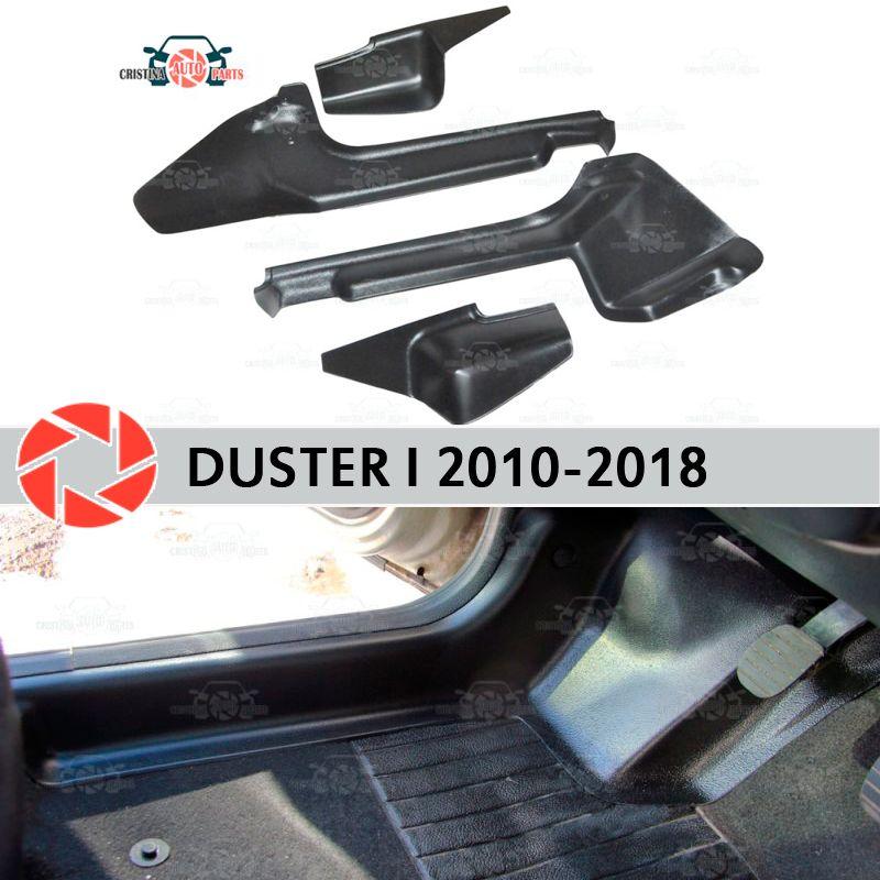 Tür sill trim teppich für Renault Duster 2010-2018 innere sill schritt platte trim schutz teppich zubehör auto styling decor