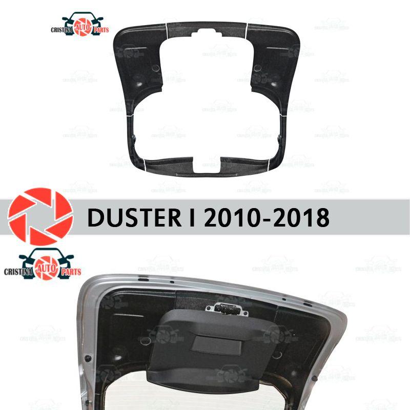Trim auf den kofferraum deckel für Renault Duster 2010-2018 zubehör schutzhülle schutz hinten tür decor schutz auto styling