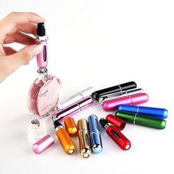 JSPP-03 1 Pcs 5 ml mini portable bouteille de parfum, fond de parfum bouteille de parfum, atomiseur, 13 couleurs en option