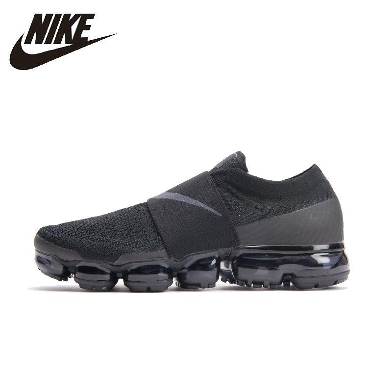 NIKE Air VaporMax Moc Original Herren Laufschuhe Mesh Atmungsaktiv Komfortable Leichte Turnschuhe Für Männer Schuhe # AH3397-004