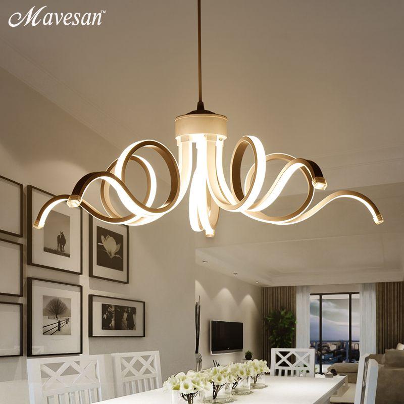 Led Modern Pendant Lighting Novelty Lustre Lamparas Colgantes Lamp for Bedroom Living Room luminaria Indoor Light AC90-260v