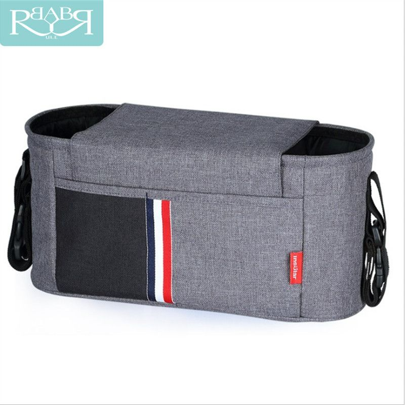 Baby Stroller Organizer Accessories Capacity Waterproof Bebe Carriage Bag For Prams Nappy Diaper Mother Bag Car Accessories