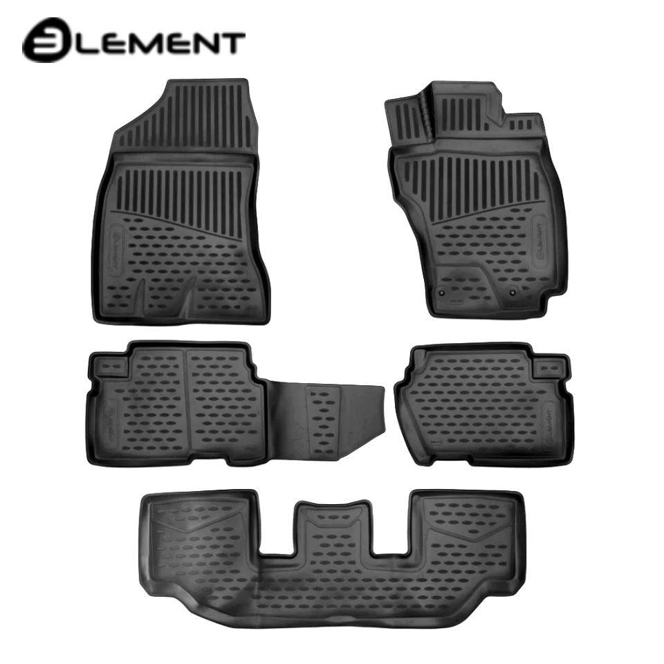 Für Toyota Wünschen 25 4WD 2009-2018 3D boden matten in saloon 5 teile/satz Element ELEMENT3D48142210