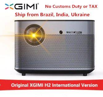 XGIMI H2 1920*1080 dlp Full HD projektor 1350 ANSI lumen 3D projektor Unterstützung 4 karat Android wifi Bluetooth beamer