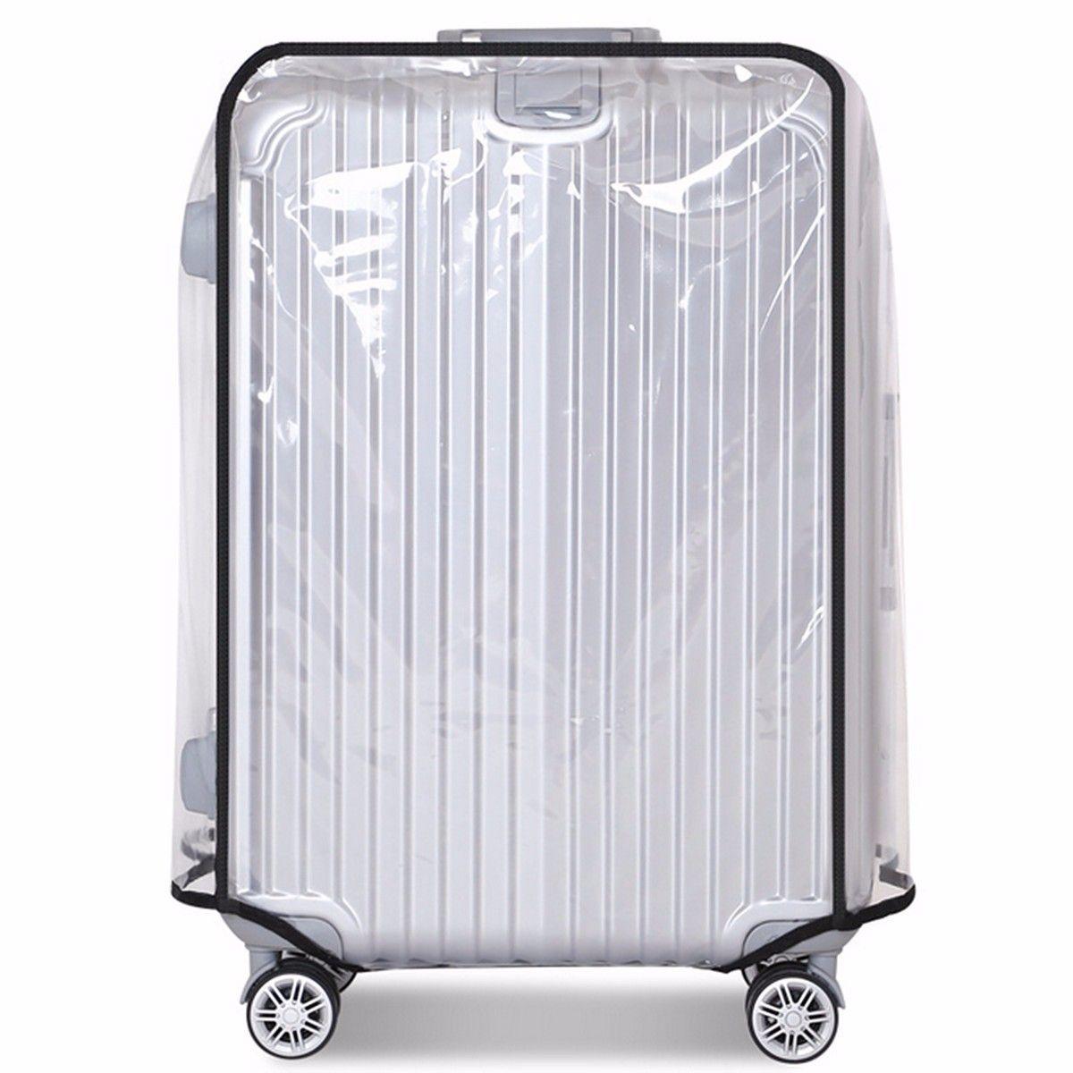 Osmond Transparent PVC étanche housse de bagage Trolley valise poussière bagage housse de protection voyage etui accessoires 20