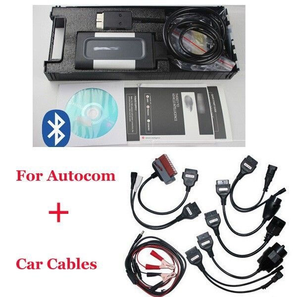 2017 Quality A FOR AUTOCOM CDP Pro for cars & trucks(Compact Diagnostic Partner) OKI CHIP with free shipping,full set car <font><b>cables</b></font>