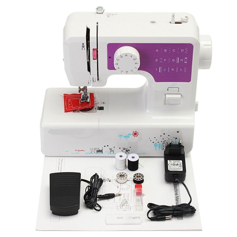 Household Mini Sewing Machine Portable Knitting Multifunction Electric Presser Foot