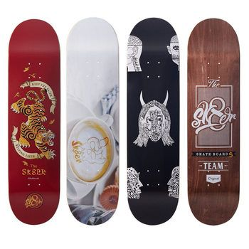 SK8ER Cnandian Maple Skateboard Decks 8