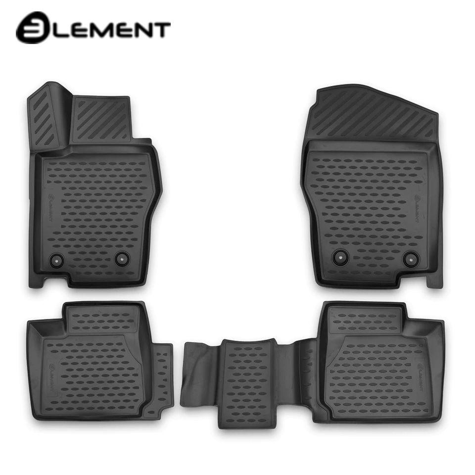 Für Haval H2 2014-2019 3D boden matten in saloon 4 teile/satz Element ELEMENT3D9901210k
