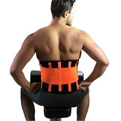 Gym Sports Waist Support Brace Belt Durable Black Lumbar Lower Waist Belt Double Adjustable Back Belt For Pain Relief