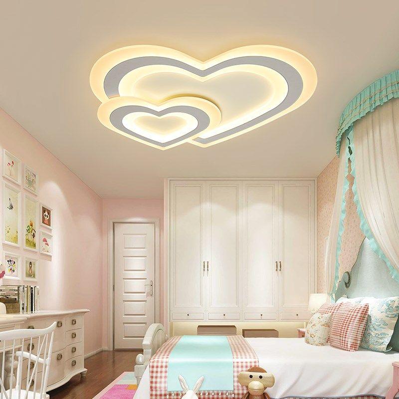 Chandelierrec Online Modern LED ceiling chandeliers for children baby bedroom home decoration chandelier home fixtures AC85-265V