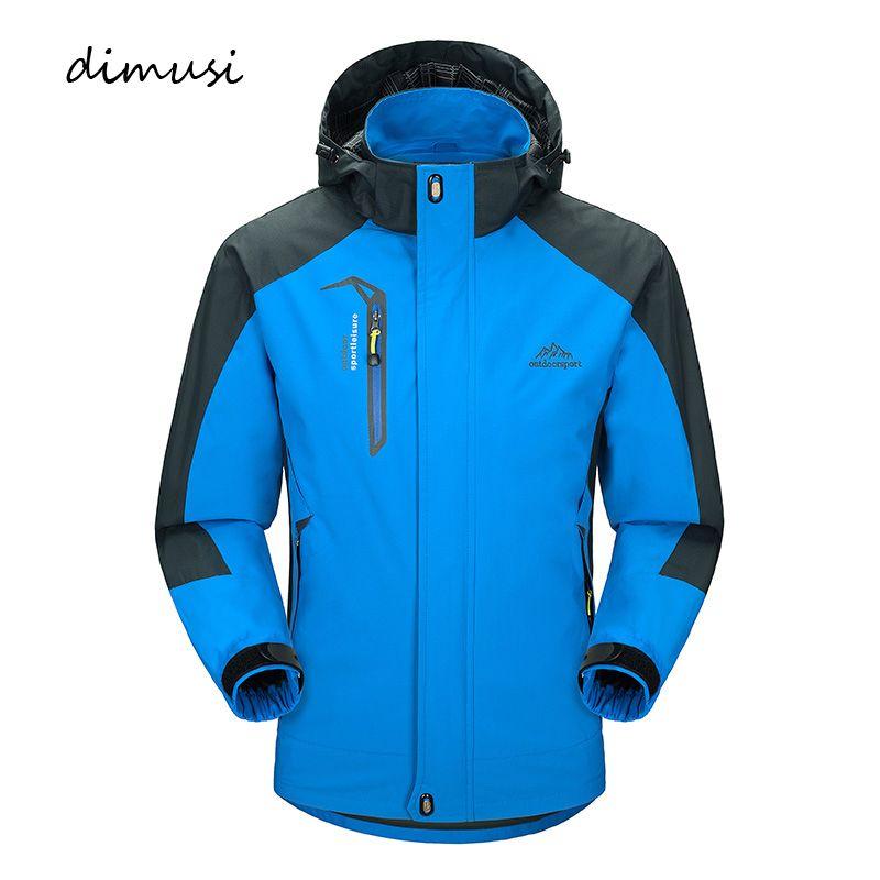 DIMUSI décontracté veste hommes printemps automne armée imperméable coupe-vent vestes mâle respirant UV protection pardessus 5XL, TA541