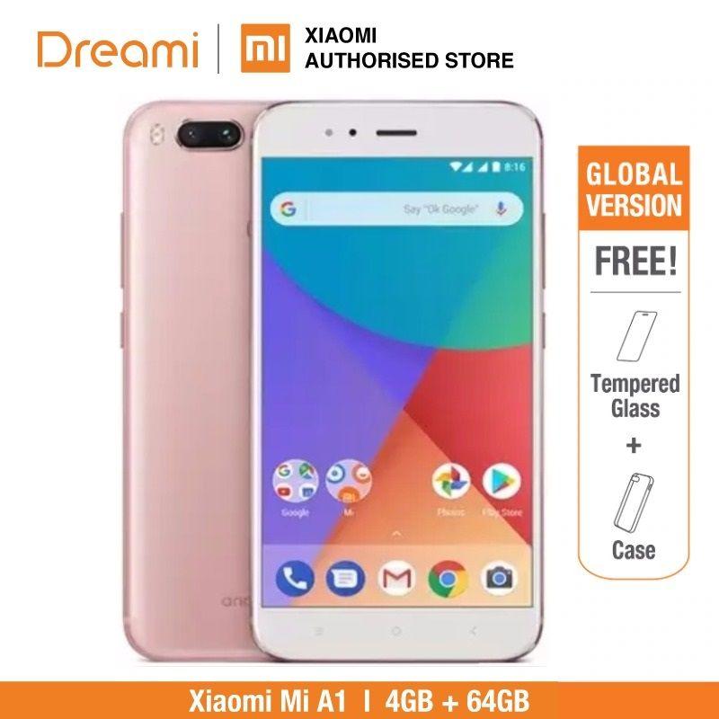 Global Version Xiaomi Mi A1 64GB ROM 4GB RAM (Brand New and Sealed) xiaomi mia1 64gb