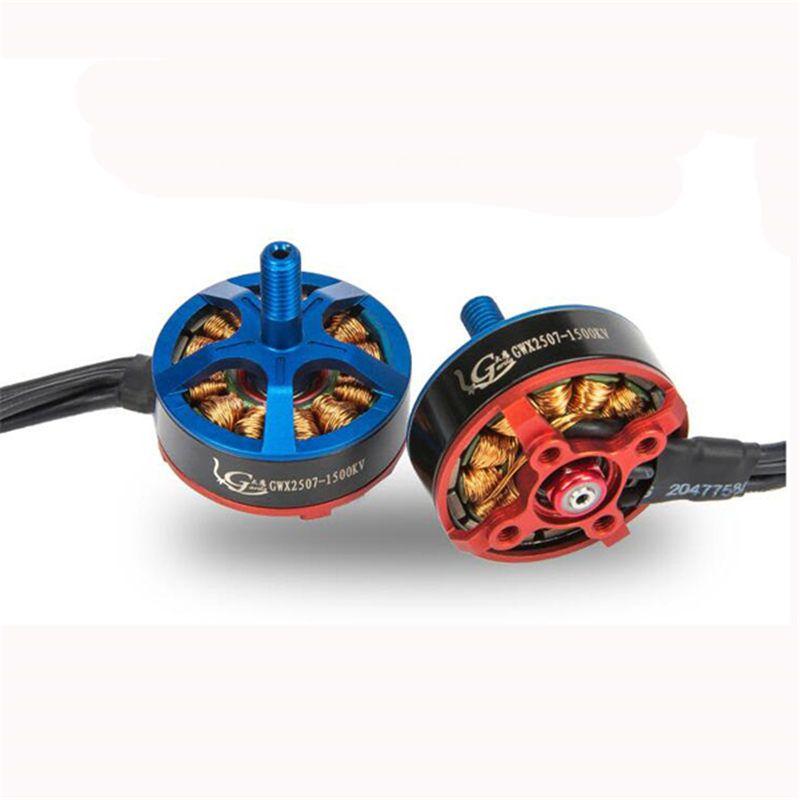 4 stücke Garila X2507 1500KV 2350KV 2750KV Brushless Motor Für RC Modles Spielzeug Rahmen ESC Blau Rot Servo RC Racing Multicopter teil