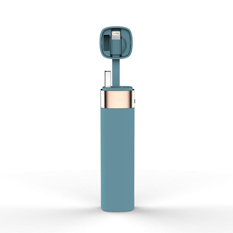 MIPOW chargeur portatif batterie 3000mAh Smart APP Mini chargeur Portable avec câble MFI Lightning pour iPhone 6 6S 7 8 Plus iPod Apple