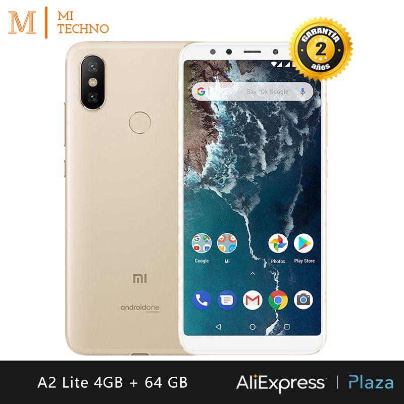 [Mondial Version] Xiao mi mi A2 Lite Smartphone 5.84 (4 GB RAM + 64 GB ROM, double SIM, Batterie 4000 mAh, Android Un)