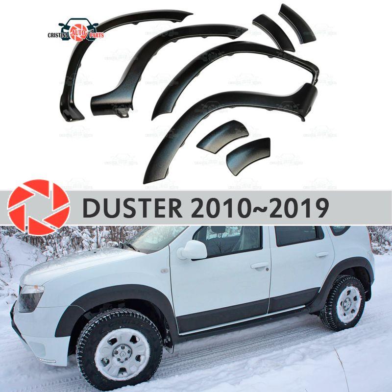 Rad bögen kotflügel für Renault Duster 2010-2019 fendors trim zubehör schutz dekoration außen auto styling v2