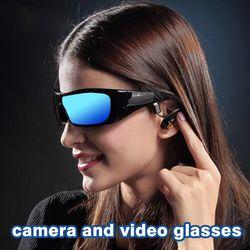 Smart sunglasses Bluetooth headset Wireless smart Sport Camera Digital Video For MP3 Upgraded Version Smart-Brill Los auricular