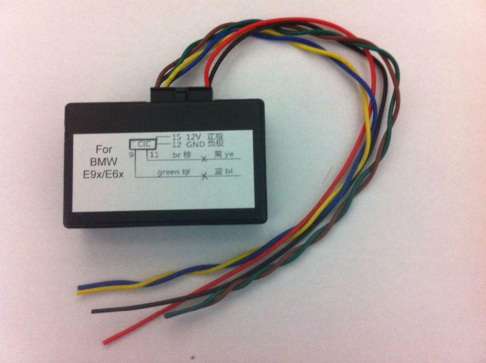 for BMW CIC retrofit adapter emulator,video in motion E90 E60 X5 X6 E7X E9X E6X E81 E82 E87 E88