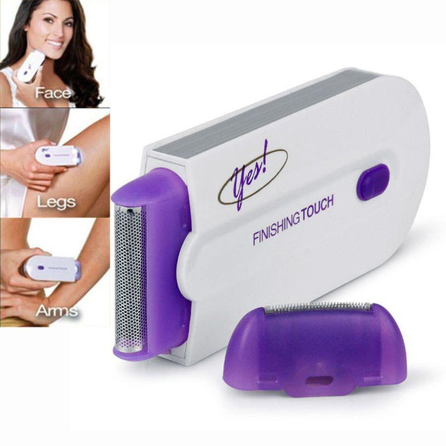 NOUVEAU épilateur laser femmes Rechargeable Cheveux Remover Lisse tactile Retrait Instantané et Sans Douleur détecteur de lumière En Toute Sécurité Rasoir
