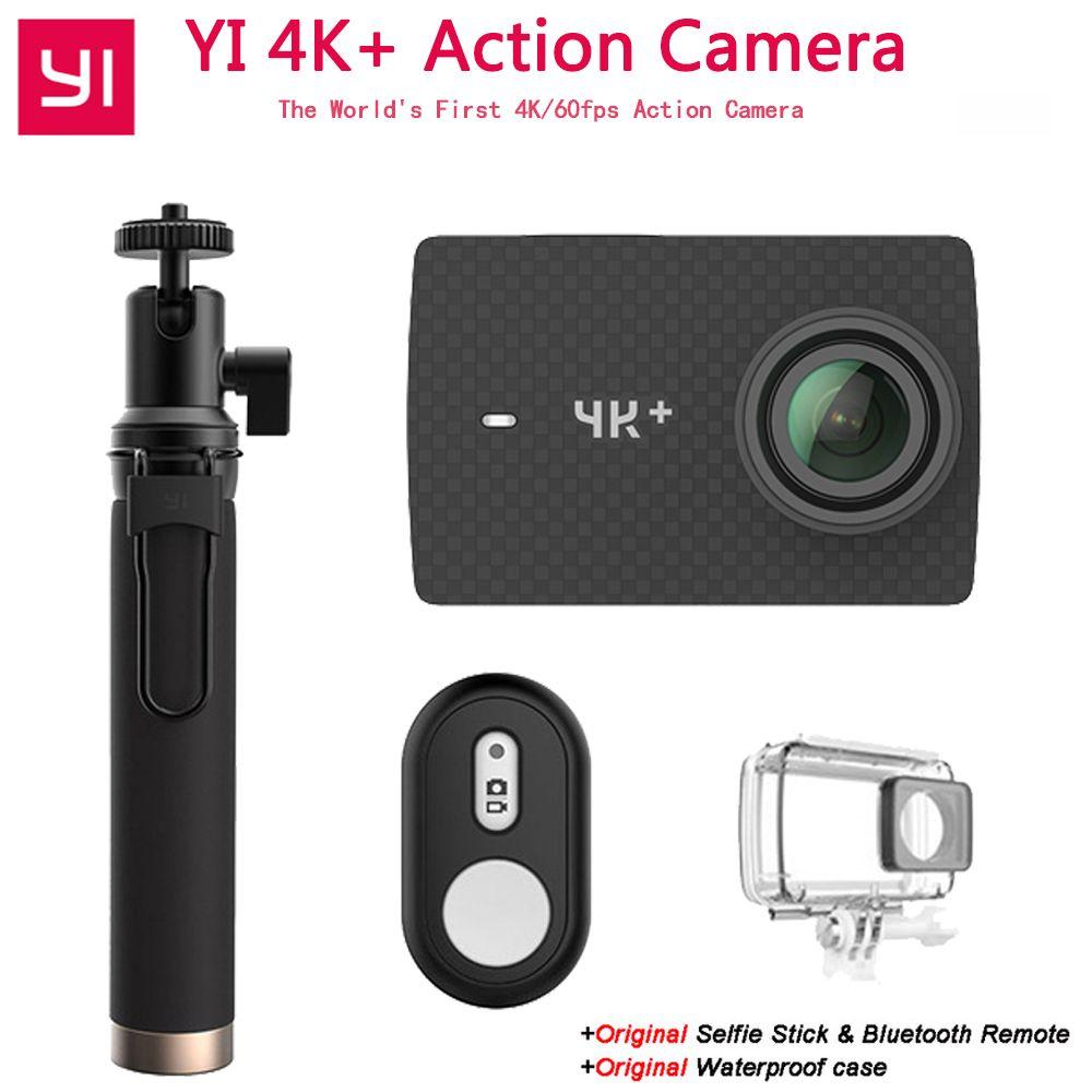 Xiaomi YI 4 karat + Action Kamera Ambarella H2 12MP 155 Grad 2,19 RAW YI 4 karat + Erste 4 karat/60fps Sport Kamera [International Version]