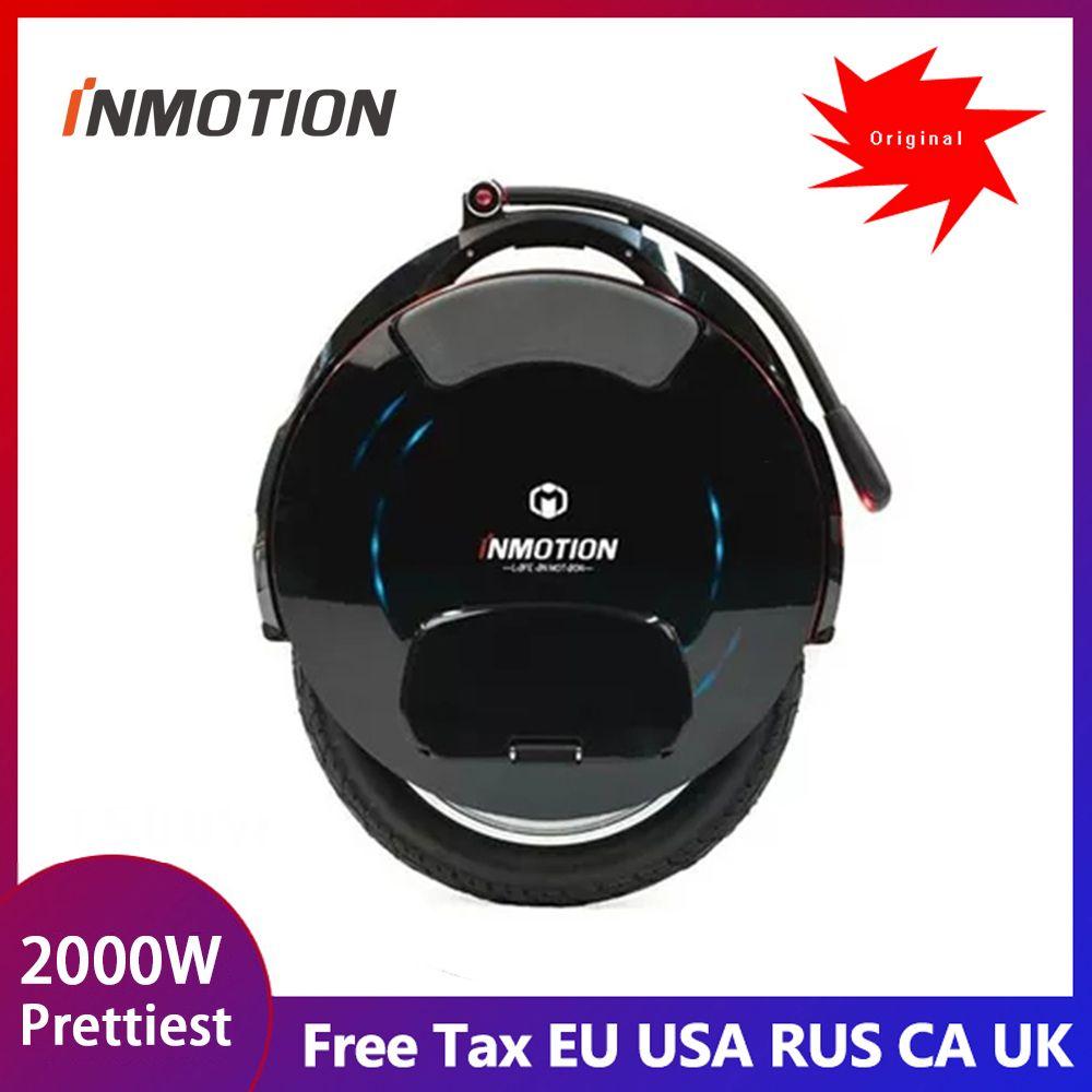2019 INMOTION V10F elektrische einrad, einzelnen rad gleichgewicht auto 2000 W motor, geschwindigkeit 40 km/h, 960WH, smart APP Freeshipping