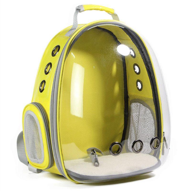Hund Raum Kapsel Rucksack Atmungsaktive Hund Tasche Transparent Rucksack Wagen für Haustiere Neue Pet Raum Pack Kreative Hund Tasche