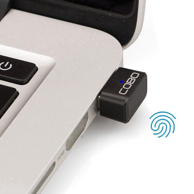 Tragbare C2 Mini Smart-Fingerprint USB Modul 0,25 S Schnelle Reaktion Laptop Notebook PC Sicherheitsschloss für Win10 Verbesserte Version
