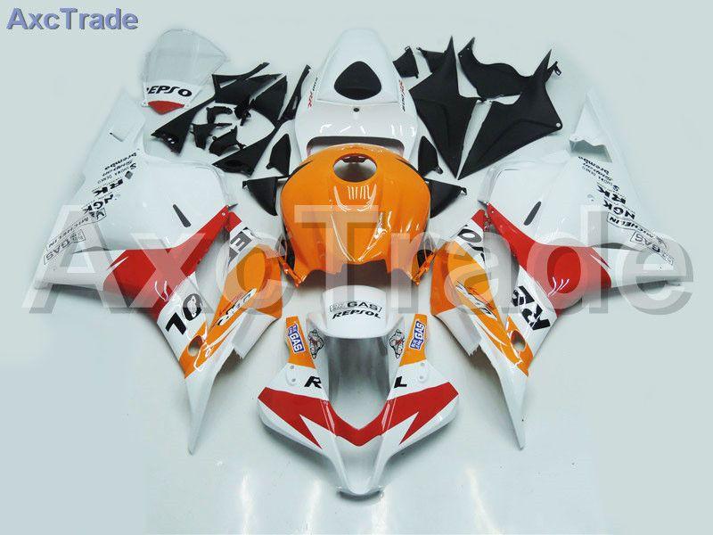 Motorcycle Fairings For Honda CBR600RR CBR600 CBR 600 2009-2012 09 10 11 12 F5 ABS Plastic Injection Fairing Bodywork Kit White