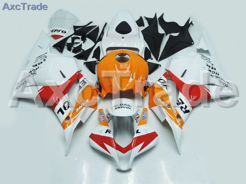 Motorcycle Fairings For Honda CBR600RR CBR600 CBR 600 2009-2012 09 10 11 12 F5 ABS Plastic Injection Fairing Bodywork Kit White