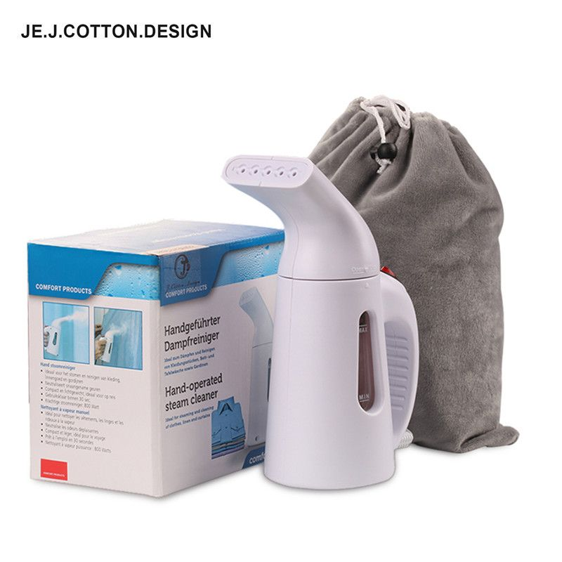 800W Garment Steamer for Clothes Steam Iron Cleaning Machine for Ironing <font><b>Handheld</b></font> Vertical Clothes Steamers with Pouch 110/220V