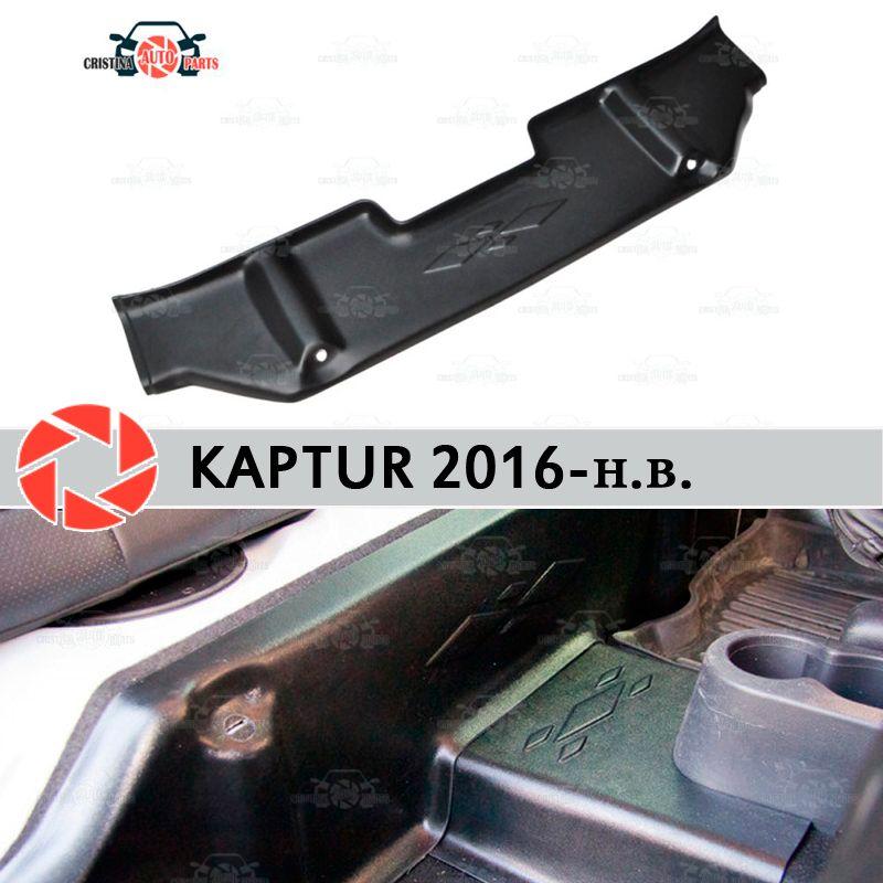 Pads unter den hinteren sitze abdeckungen für Renault Kaptur 2016-auf teppich sill trim zubehör schutz von teppich auto styling