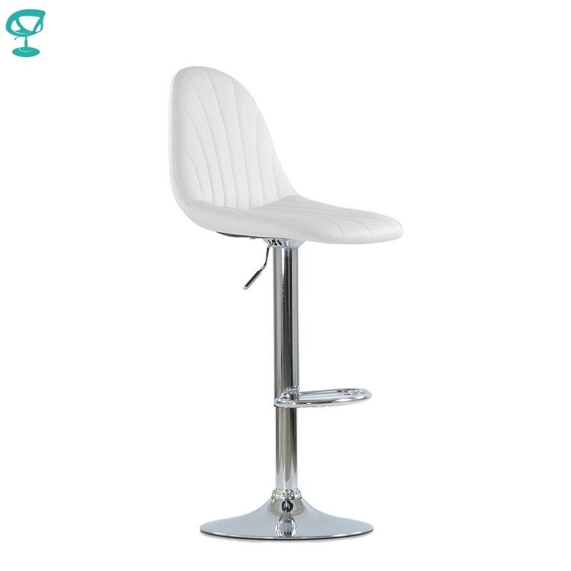 N95CrPuWhite Barneo N-95 PU Leder Küche Frühstück Barhocker Swivel Bar Stuhl Weiß farbe kostenloser versand in Russland