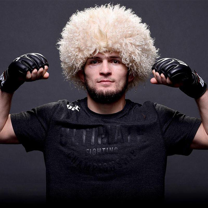 Seine kappe Papaha die original Kaukasischen nationalen etnic headwear papakha hut habib nurmagomedov 000-652