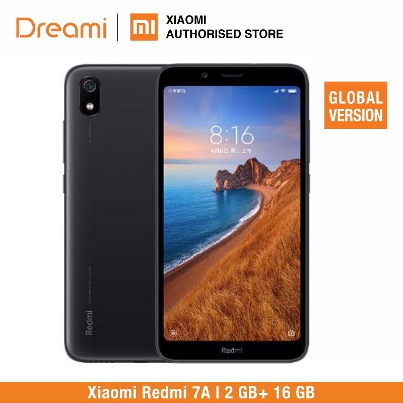 Version mondiale Xiaomi Redmi 7A 16 go ROM 2 go de RAM (tout neuf et scellé) 7a 16 go