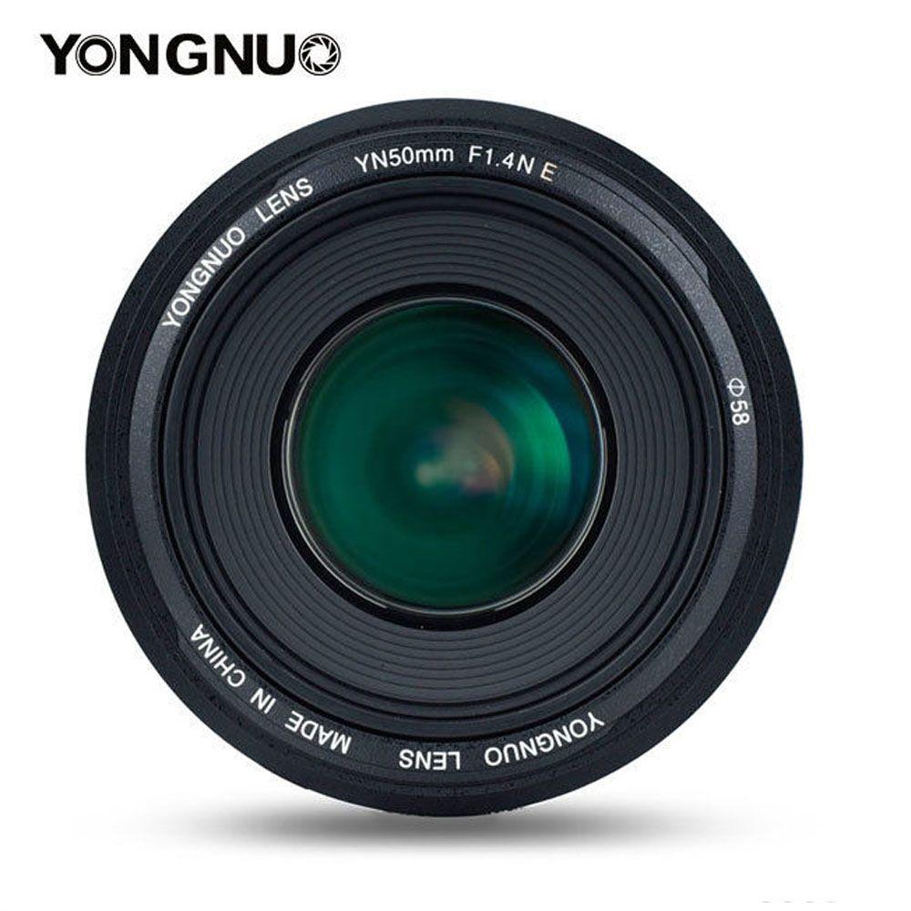 YONGNUO YN50MM 50MM F1.4N F1.4 E Standard Prime Lens AF/MF for Nikon D7500 D7200 D7100 D7000 D5600 D5500 D5300 D5200 D5100