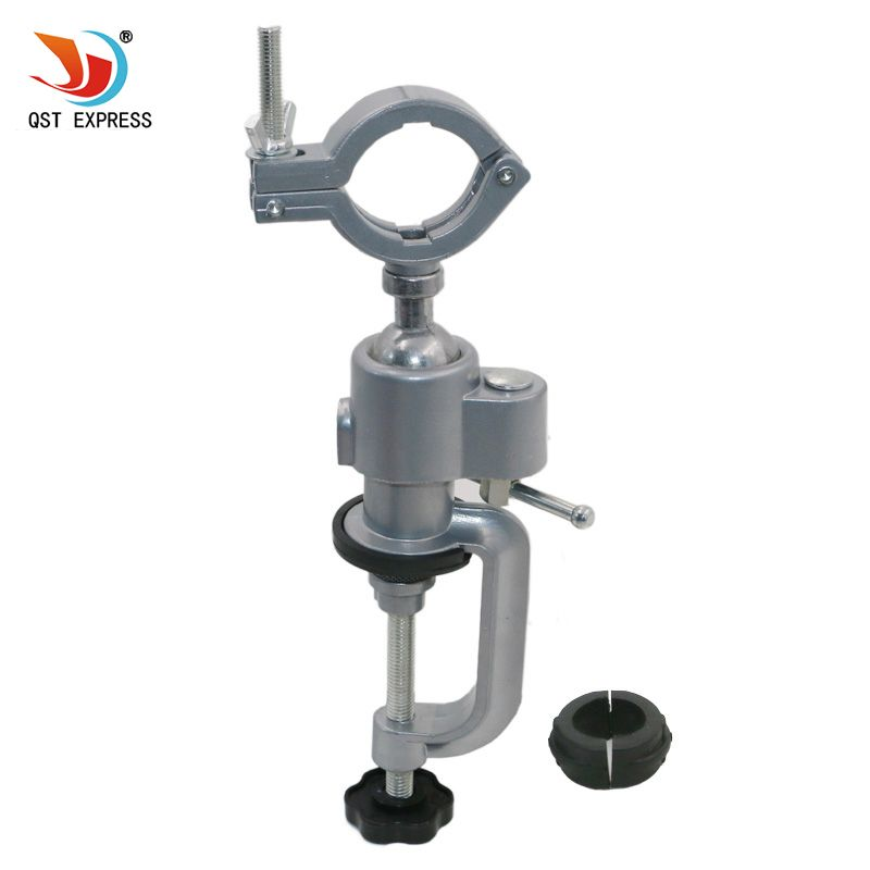 QSTEXPRESS 1PC Grinder Accessory Electric Drill Stand Holder Electric Drill Rack <font><b>Multifunctional</b></font> bracket used for Dremel