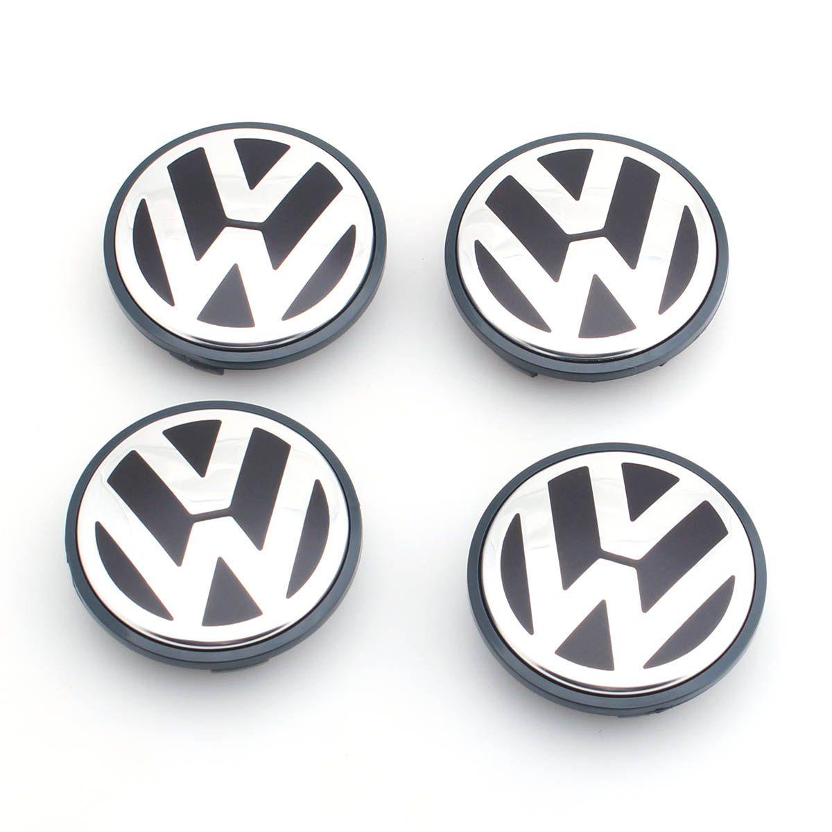 4pcs/set OEM 65mm Wheel Center Cap Logo Hub Cover Badge Emblem for VW Jetta MK5 Golf Passat