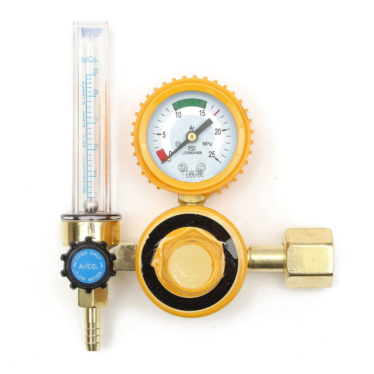 Explosion Proof 0-25Mpa Argon CO2 Mig Tig Flow Meter Gas Regulator Flowmeter Welding Weld Gauge Argon Regulator