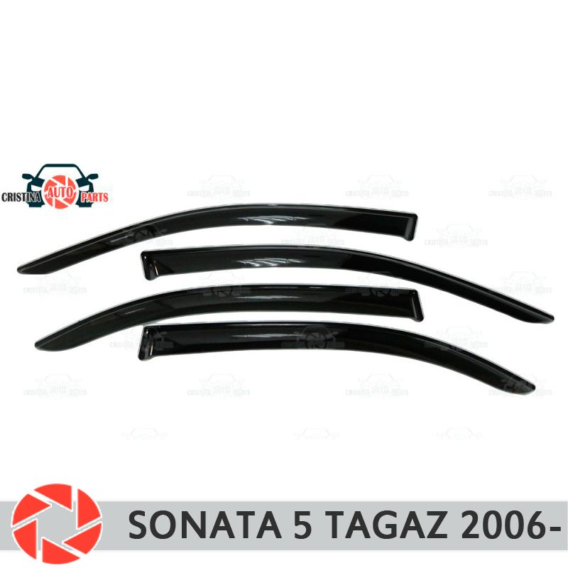 Fenster deflektor für Hyundai Sonata 5 Tagaz 2006-regen deflektor schmutz schutz auto styling dekoration zubehör molding