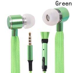 Portable In-Ear Earbud Portable Professional Music Earphones New Style In-Ear Shoe Lace Earphones With Mic